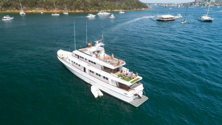 d'Albora Marine lists two luxury charter vessels for sale