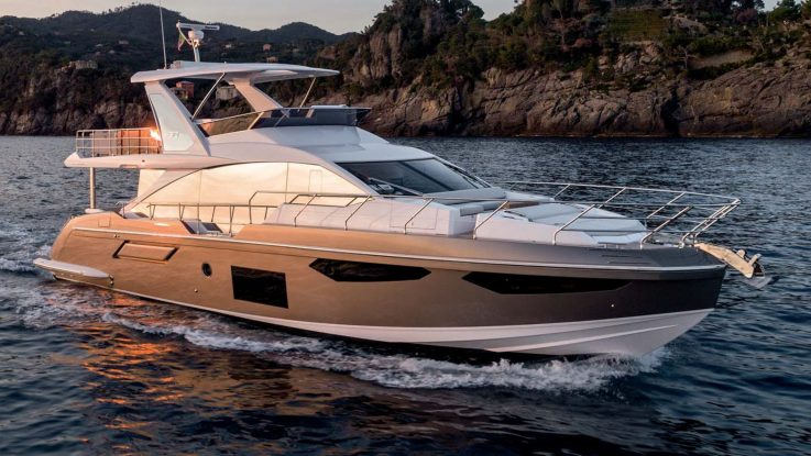 The Azimut 60 | It's all about technology