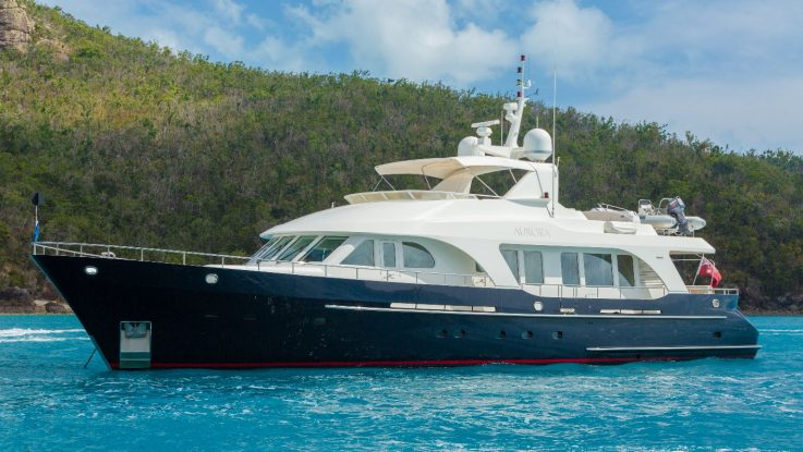 2004 Moonen 84 'Aurora' hits the market with central agents d'Albora Marine
