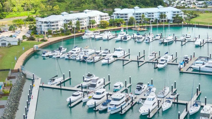 Port of Airlie launches boat sales offering in partnership with d'Albora